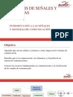 Clase 1 - Introducción a Las Señales y Sistemas de Comunicaciones