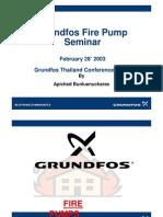 Fire Pump Seminar
