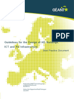 Guidelines for the Design of HE Buildings,ICT and AV Infrastructure
