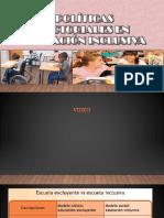 politicas de educacion