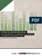 ESTUDIO DE EDUCACION INCIAL