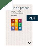 Arnau, Juan - Arte de probar. Ironía y lógica en India antigua.pdf