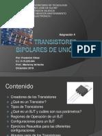 Transistores Bipolares de Unión - Asignación 4 - Frederick Olivar