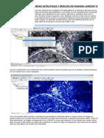Combinación de Bandas Satelitales y Realces de Imagen Landsat 8
