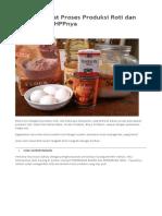 Cara Mencatat Proses Produksi Roti dan Perhitungan.docx