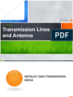 Transmission Line and Antenna System