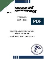 Codigo de Convivencia 2018-2019