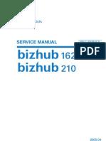 Konica-Minolta Bizhub 162-210 Service Manual