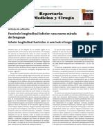 2016. (Palacios, E. y Clavijo-Prado, C.). Fascículo longitudinal inferior