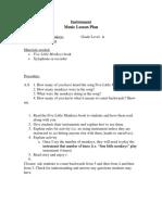 creativity lesson plan