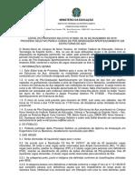 Edital PS07-2020 Curso Pós-Graduação Aperfeiçoamento Em Estruturas de Aço