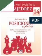 Gude Antonio - Cuadernos Practicos de Ajedrez-14 - Posiciones Explosivas, 2012-OCR, 50p
