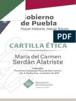 Cartilla Etica Carmen Serdan