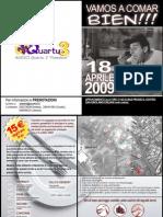 invito 18 aprile 2009