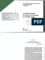 Pinheiro - Intro La efectividad de la ley y los desfavorecidos en Am Lat.pdf
