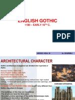 Unit3 Late Medival English Gothic