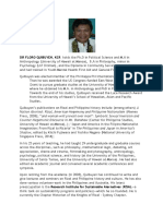 Dr. Floro Quibuyen CV