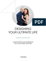 Designing Your Ultimate Life - Masterclass Workbook [Editable PDF]