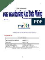 data wherehosing and data mining
