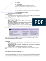 Pediatric Evaluation of Disability Inventory SUMMARY