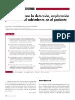 Estrategias Para La Deteccin Exploracin y Atención Del Sufrimiento en El Paciente