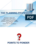 The Planning Profession January 7 2017