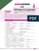 SOF IEO Sample Paper Class 4