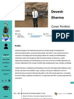Career Design Portfolio-Devesh_Sharma