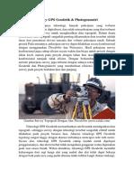 Article BIM - Survey GPS Geodetik dengan Photogrametry - Yoshua AW.docx