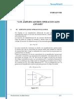 Texto8 Los Amplificadores Operacionales (OPAMPS).pdf