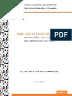 Guía de Elaboración Tesis Ciencias Sociales y Humanas