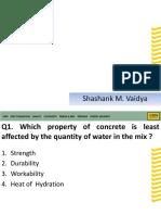 Concrete Quiz M3M.pptx