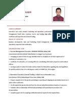 ACCOUNT MANAGEMENT CV