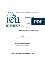 Tarea 2 Ordenamiento y Busqueda IEU