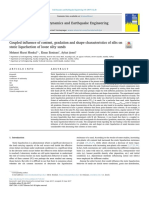 Coupled influence of content, gradation and shape characteristics of silts on static liquefaction of loose silty sands