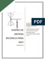 biconica antena