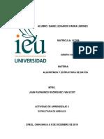 Tarea 3 Estructura de Arboles IEU