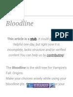 Bloodline - Official Vampire's Fall_ Origins Wiki