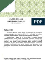PPT Pertemuan 6 - Strategi Bersaing Perusahaan Dominan