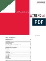 PDF Trend II Software Manual