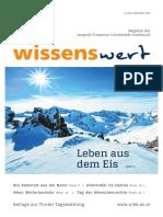 wissenswert Dezember 2019 – Magazin der Universität Innsbruck