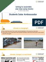 Student Solar Ambassador Workshop Presentation