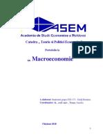 Portofoliu La Macroeconomie