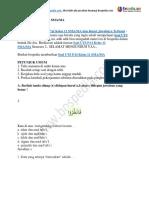 60+ Contoh Soal UTS PAI Kelas 11 SMA MA dan Kunci Jawabnya