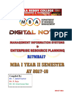 R17MBA17 MIS AND ERP Digital Notes (1).pdf