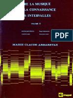 Vol 2 Lire La Musique Par La Connaissance Des Intervalles