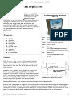 Seismic Data Acquistion on Marine