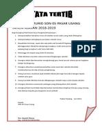 ORANGTUA MURID SDN 05 PASAR USANG TAHUN AJARAN 2018