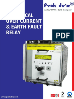 Numerical Over Current & Earth Fault Relay