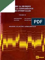 Vol 3 Lire La Musique Par La Connaissance Des Intervalles